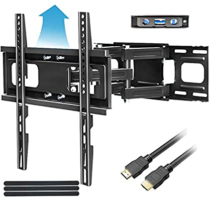 FOZIMOA Full Motion TV Mount with Height Setting