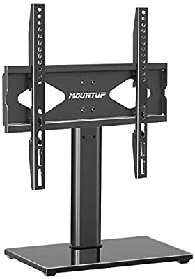 MOUNTUP Table Top TV Stand with Mount