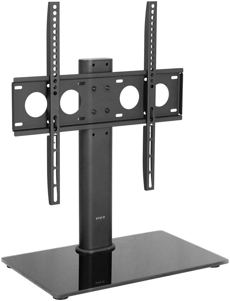 VIVO Black Universal TV Stand