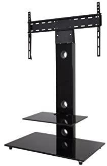 AFV FSL700LEB-A Lesina TV Floor Stand