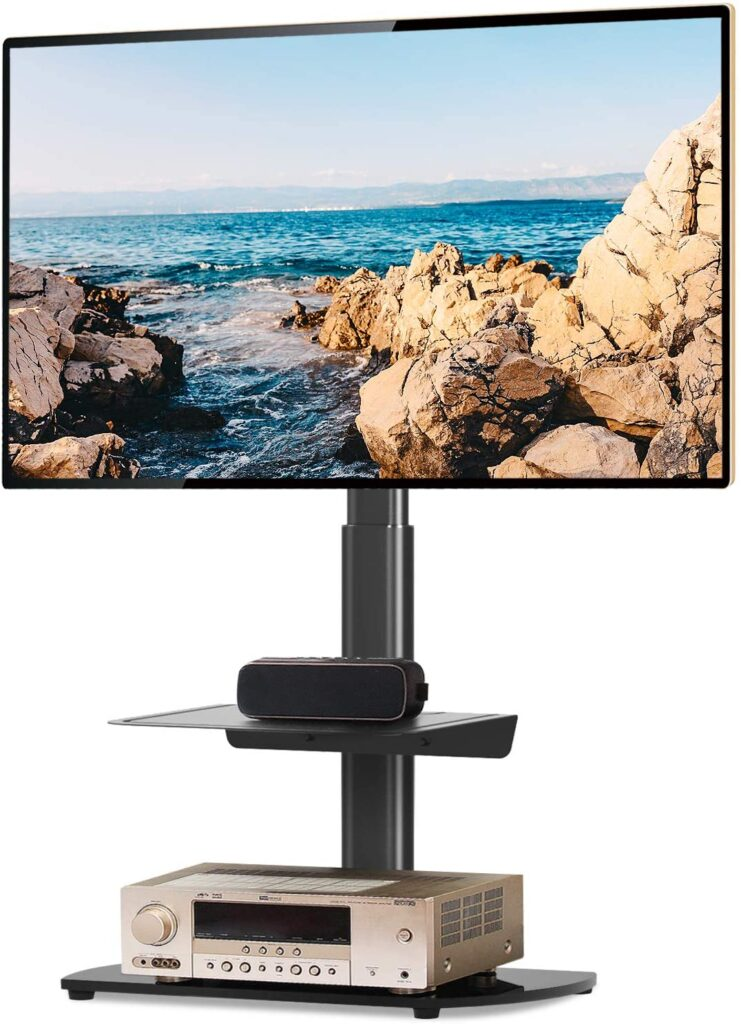 5Rcom Universal TV Floor Stand for 27 Inch to 55 Inch TVs