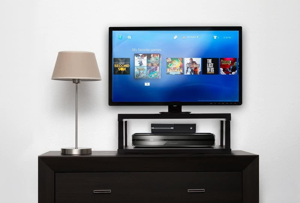 Aleratec 2-Tier TV Swivel Stand