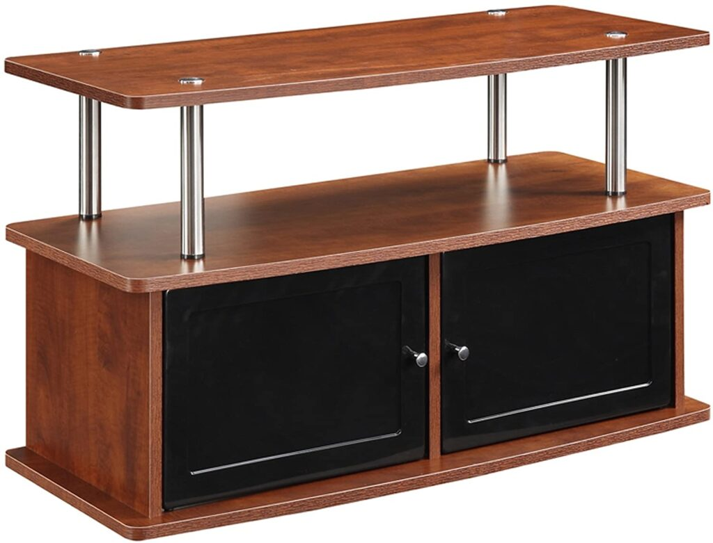 Convenience-Concepts-TV-Stand-with-2-Cabinets