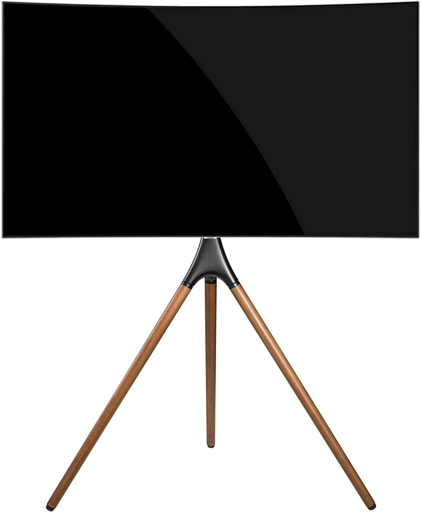 "TechOrbits Portable TV Floor Stand for 55"" and 65"" Samsung"