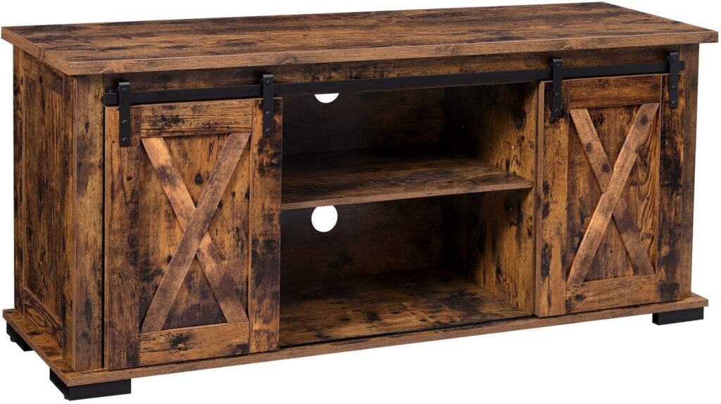 VASAGLE-TV-Cabinet-with-Sliding-Barn-Doors-TV-Stand-for-60-Inch-TVs