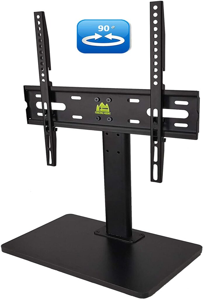 FORGING-MOUNT-Wooden-Base-Universal-TV-Stand-for-32-to-55-Inch-TVs