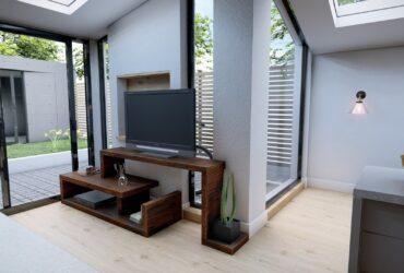 DIY Modern TV Stand