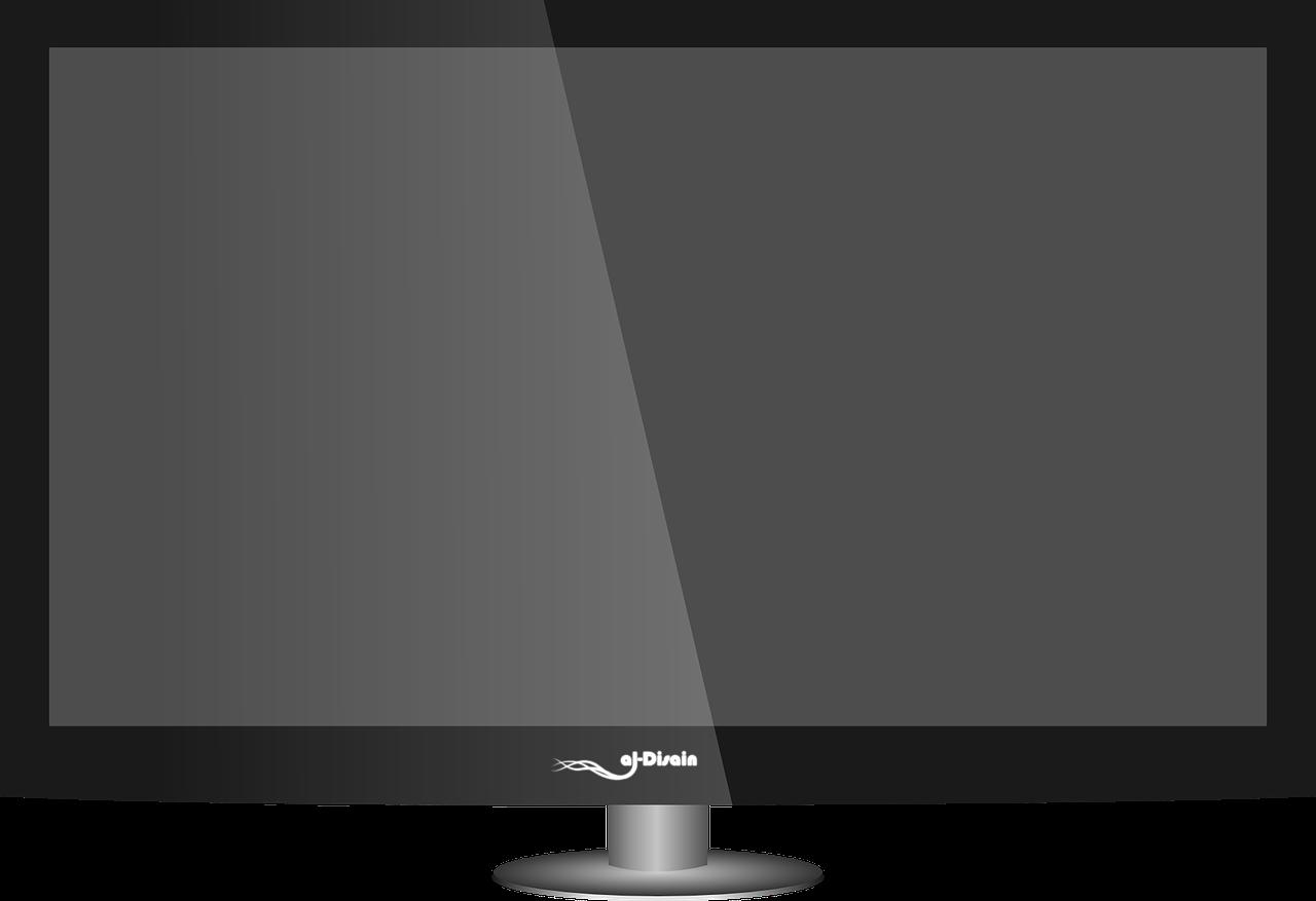 flatscreen no background