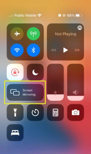 iPhone 12 screen mirror