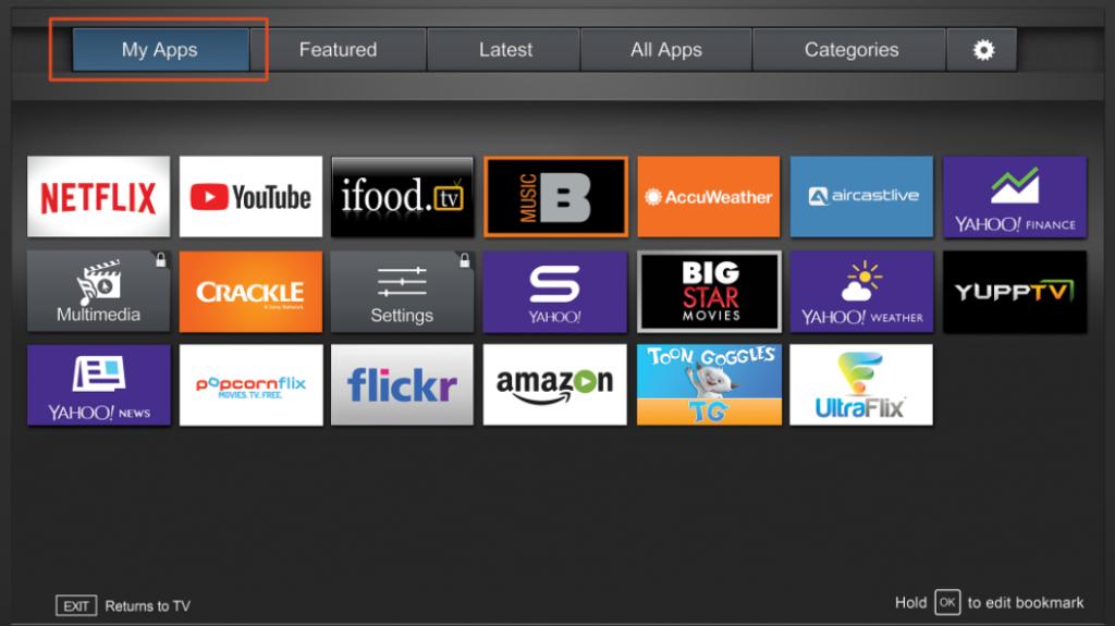 Add app to vizio tv