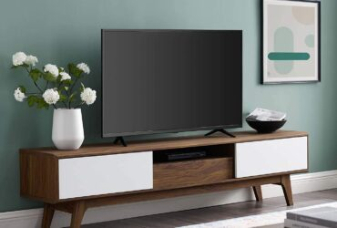 Low profile tv stand
