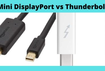 Mini DisplayPort vs Thunderbolt